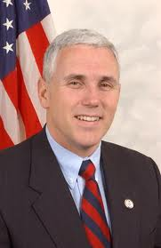 Indiana Governor Mike Pence (R,IN)
